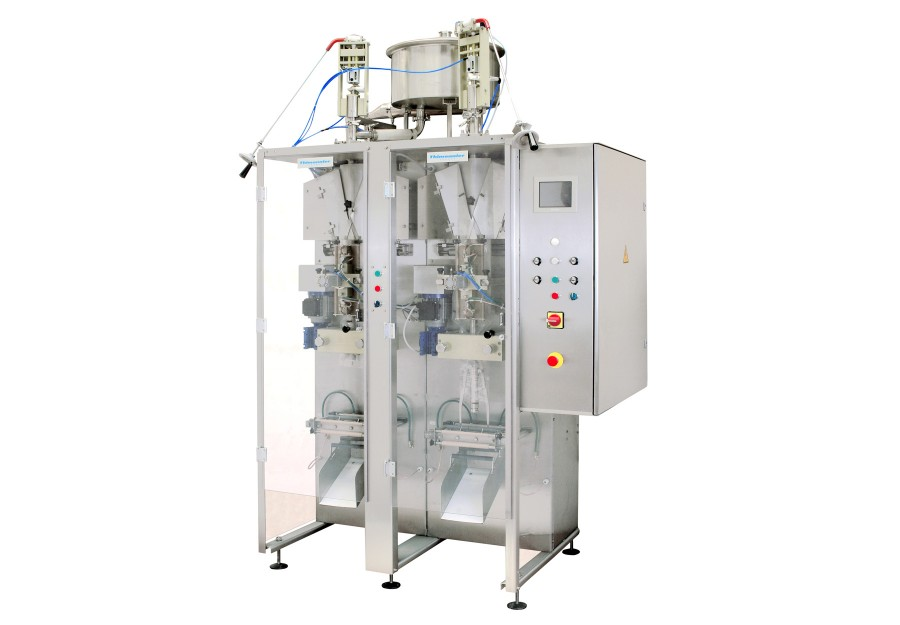 Vertical form fill seal machine (VFFS) for pillow pouch