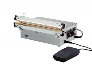 IMPULSE SEALING MACHINE FOR DOYPACK® POUCHES AND PE FILM
